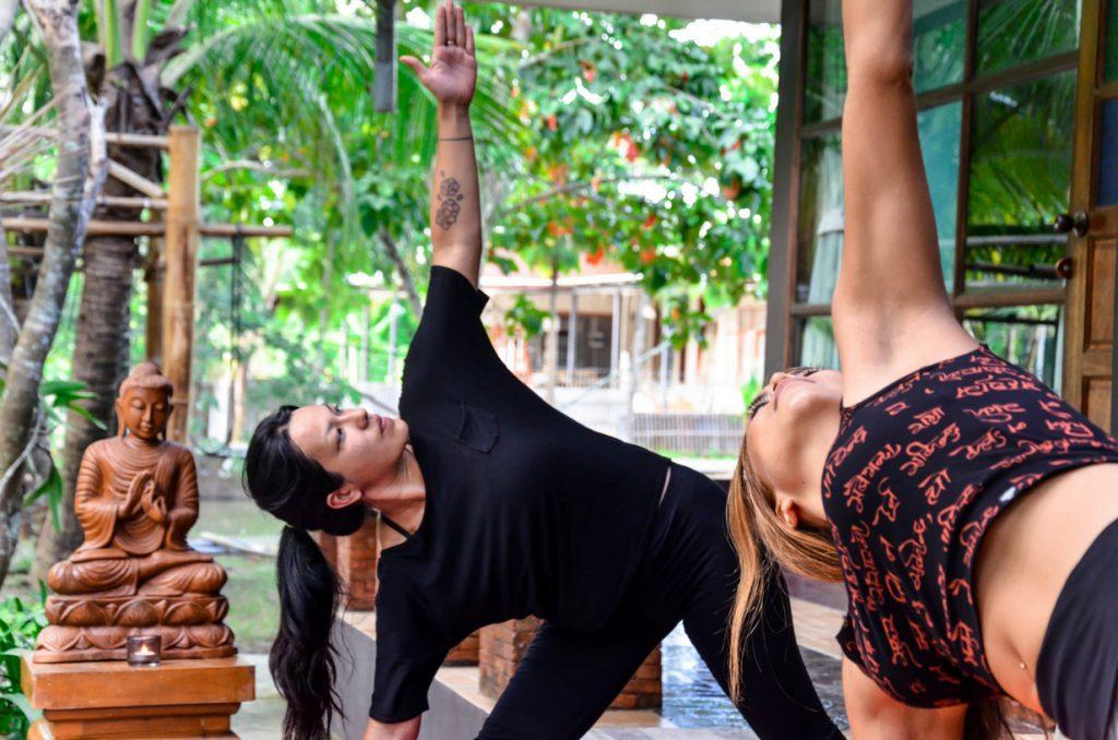 Yoga retreat - The Warriors House Chiang Mai